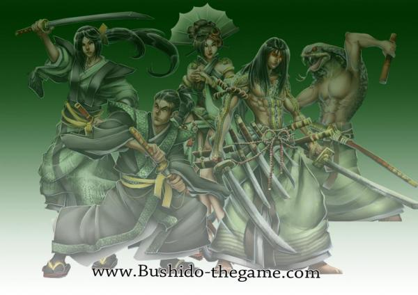 Bushido Miniatures: (Ito Clan) Starter Set