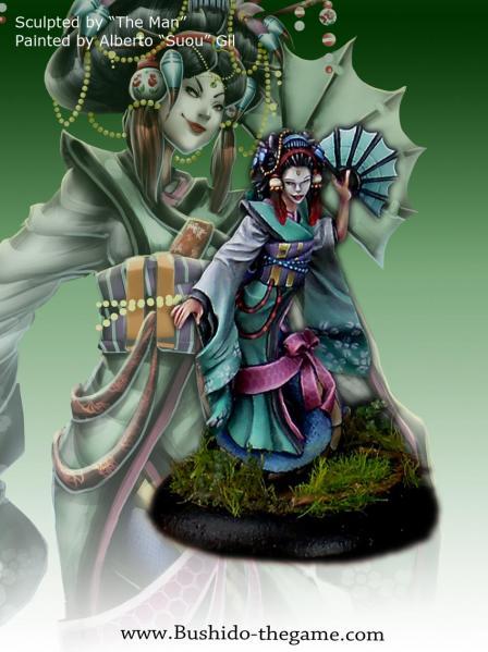Bushido Miniatures: (Ito Clan) Ayako