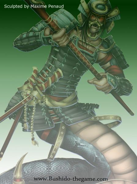 Bushido Miniatures: (Ito Clan) Kenzo Ito