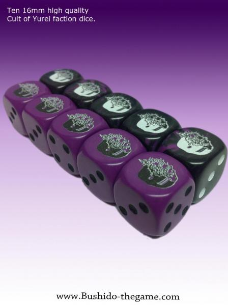 (Cult Of Yurei) Faction Dice (10)