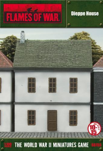Battlefield In A Box: (European House) Dieppe House