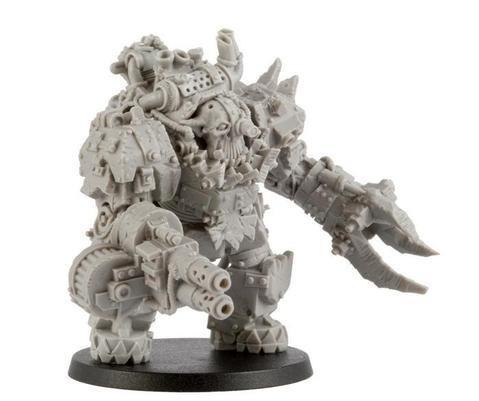 Kromlech Miniatures: Orcs Juggernaut Mecha-Armour (1)