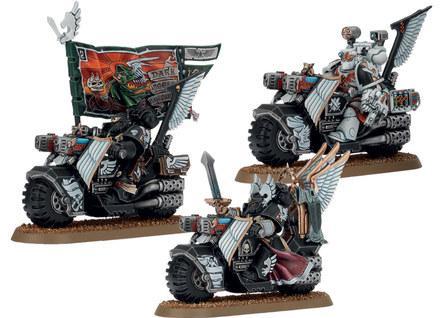 Warhammer 40K: Ravenwing Command Squad