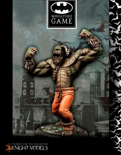 Batman Miniature Game: Killer Croc