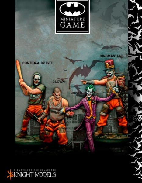Batman Miniature Game: Joker Crew