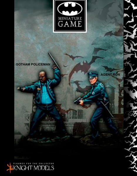 Batman Miniature Game: Gotham Police Set 1
