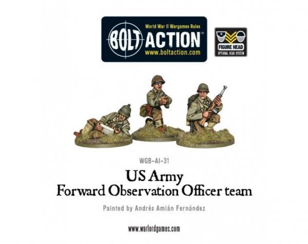 Bolt Action: (USA) Forward Observer Officers