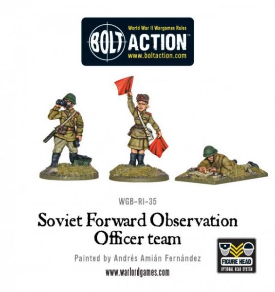 Bolt Action: (Soviet) Forward Observer Officer