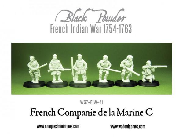 Black Powder (French-Indian War): Compagnie Franches De La Marine C