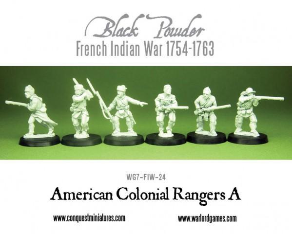 Black Powder (French-Indian War): American Colonial Rangers A
