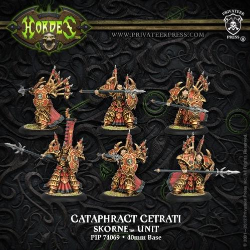 (Skorne) Cataphract Cetrati (6)