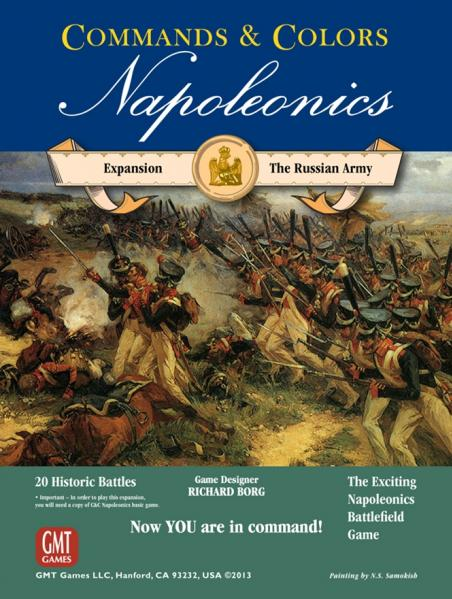 Commands & Colors Napoleonics: The Russian Army (Expansion)