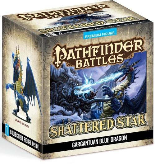 Pathfinder Battles: Gargantuan Blue Dragon [LIMITED]