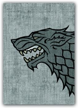 Game of Thrones Art Sleeves: House Stark (HBO)