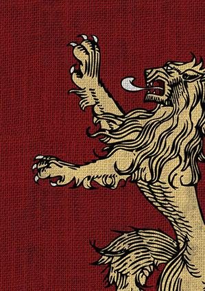 Game of Thrones Art Sleeves: House Lannister (HBO)