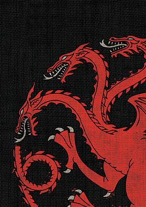 Game of Thrones Art Sleeves: House Targaryen (HBO)