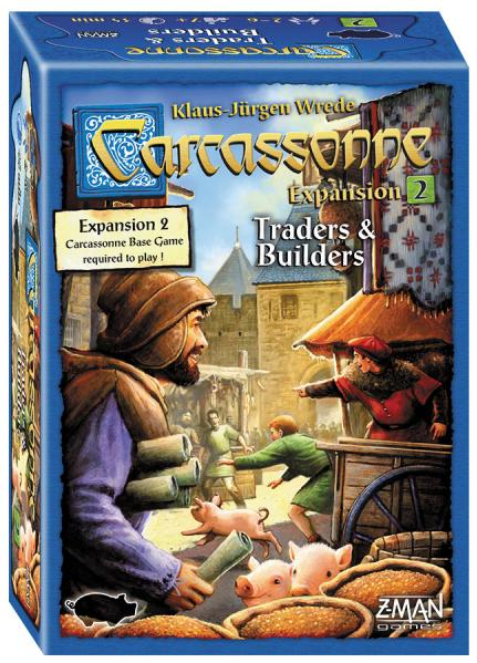 Carcassonne Expansion #2: Traders & Builders