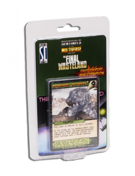 Sentinels of the Multiverse: The Final Wasteland Mini Expansion