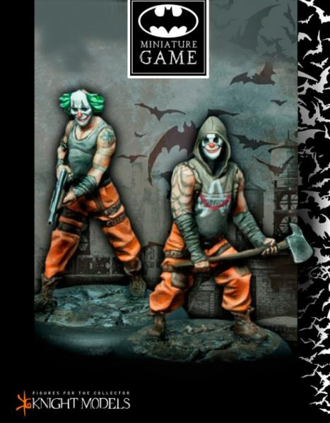 Batman Miniature Game: Joker's Clowns Set 1