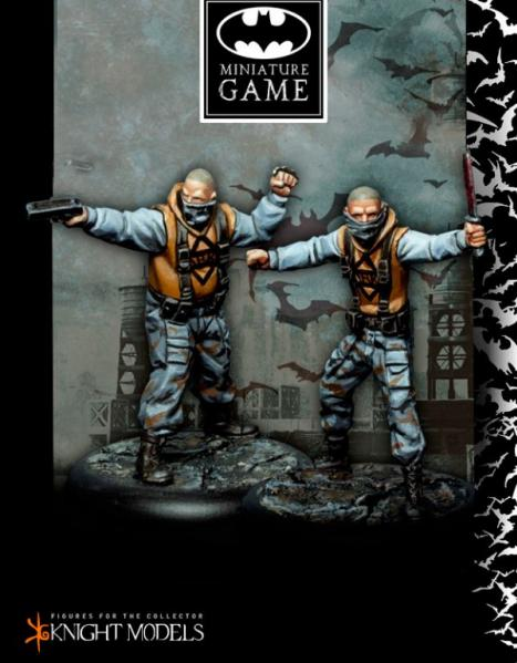 Batman Miniature Game: Penguin's Thugs Set 1