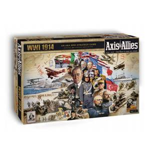 Axis & Allies Board Game: WWI 1914