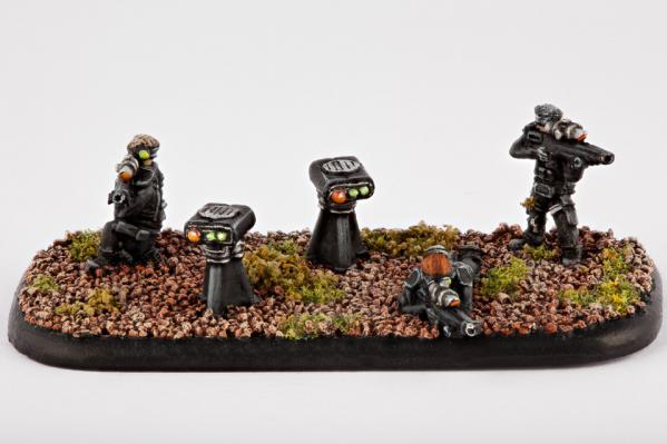 Dropzone Commander: (United Colonies Of Mankind) Praetorian Sniper Teams