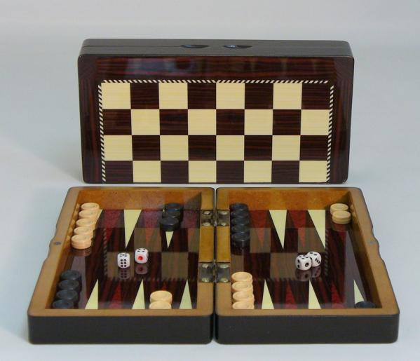 Backgammon Set: 10'' Yenigun Tavla
