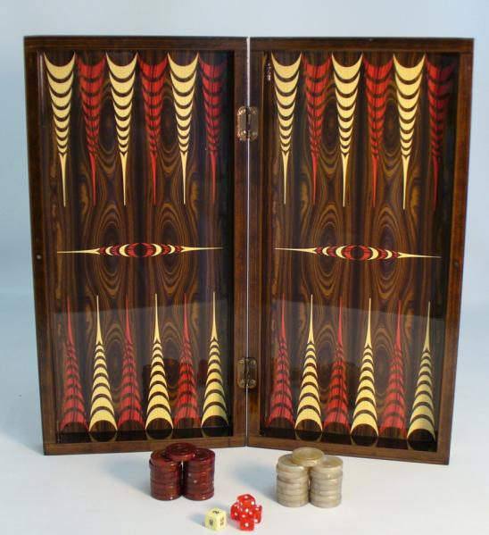 Backgammon Set: 20'' Yenigun Tavla