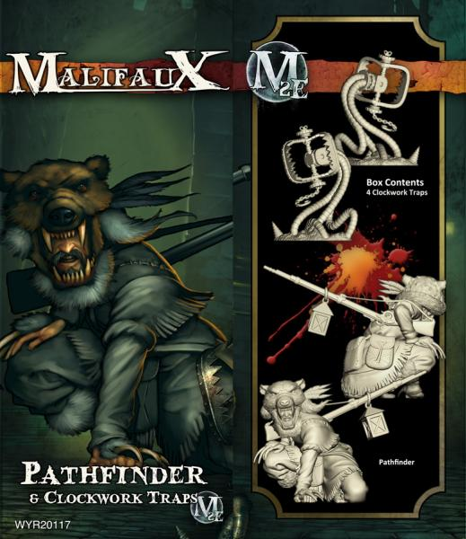 (The Guild) Pathfinder & Clockwork Traps (4)