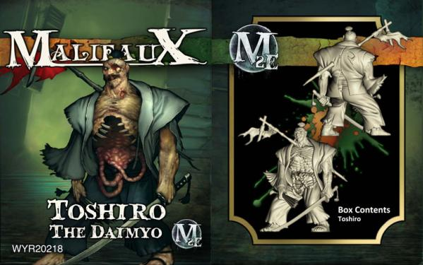 Malifaux: (The Resurrectionists) Toshiro, The Daimyo