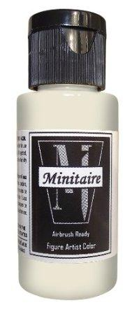 Minitaire Airbrush Paints: Skull White (1oz)