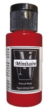 Minitaire Airbrush Paints: Nebula Red (1oz)