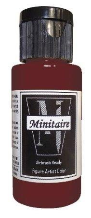 Minitaire Airbrush Paints: Regal Red (1oz)
