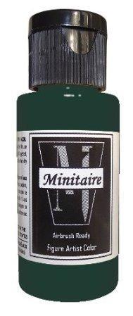 Minitaire Airbrush Paints: Dark Green (1oz)