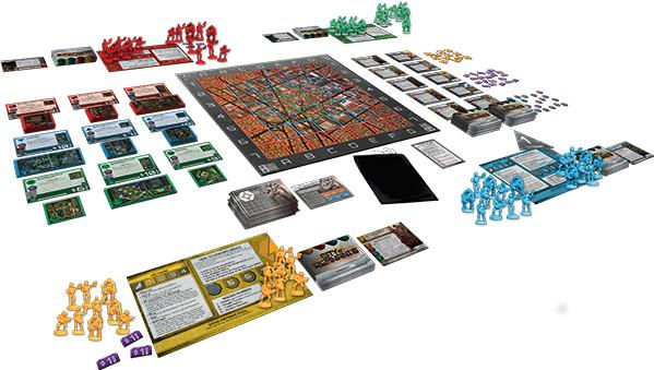 City of Remnants Board Game