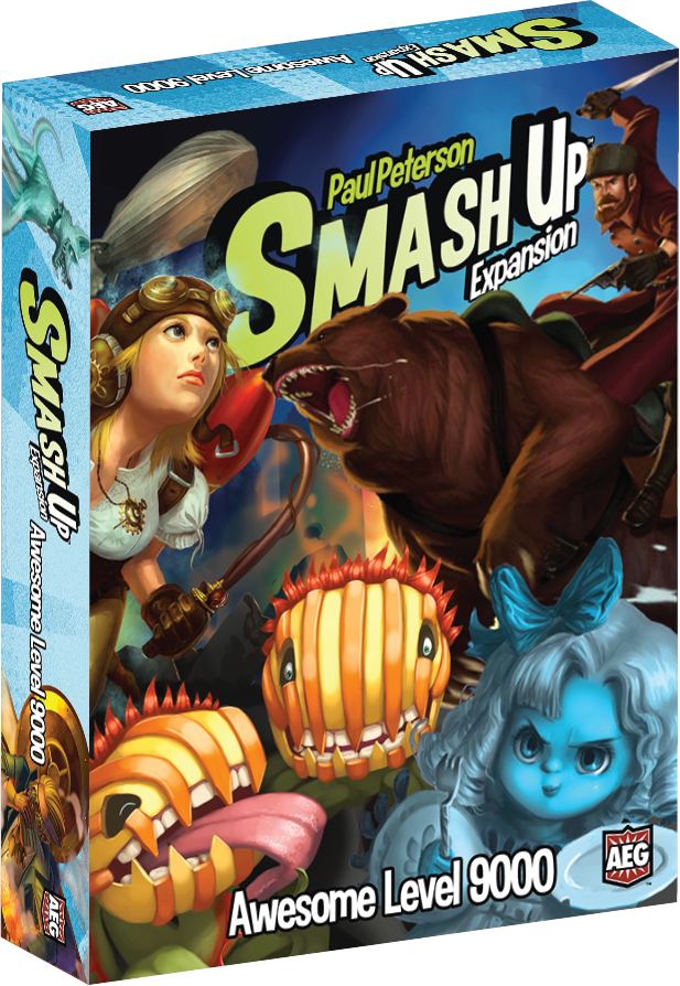 Smash Up: Awesome Level 9000 (Expansion)