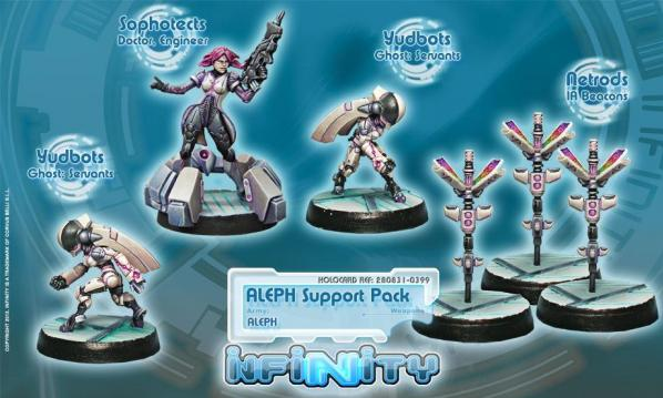 Infinity (#399) ALEPH: Aleph Support Pack (5)