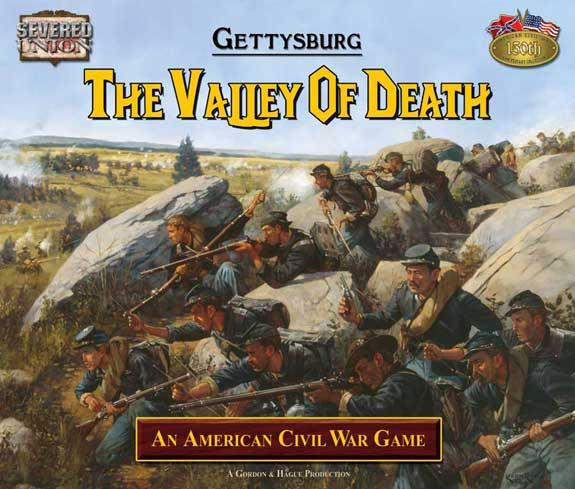Gettysburg: The Valley Of Death 150th Anniversary Civil War Board Game