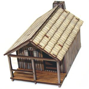 28mm American Legends: New France Pioneer's Cabin