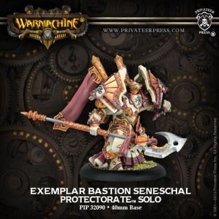 Warmachine: (The Protectorate Of Menoth) Exemplar Bastion Seneschal