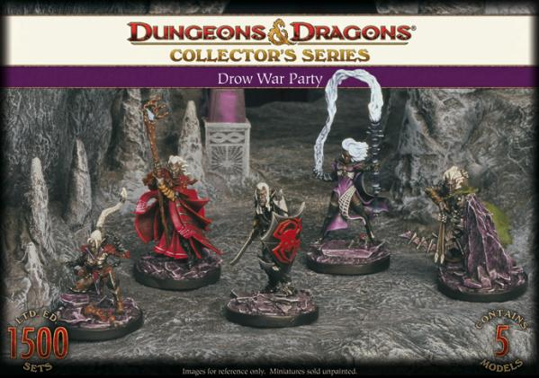 Dungeons & Dragons Collector's Series: Drow War Party