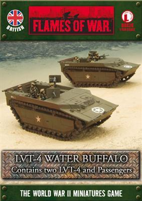 Flames Of War (WWII): (British) LVT-4 Water Buffalo