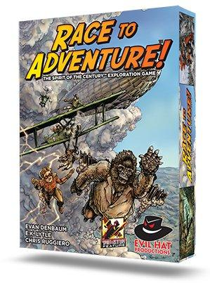 Spirit of the Century: Race to Adventure!