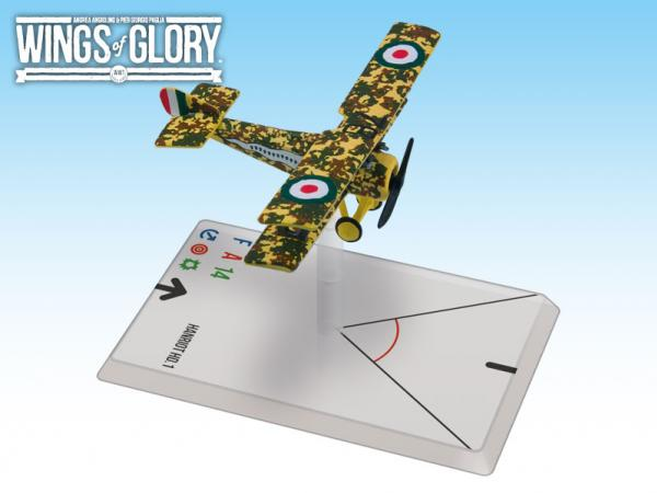 Wings Of Glory WWI Miniatures: Hanriot HD.1 (Fucini)