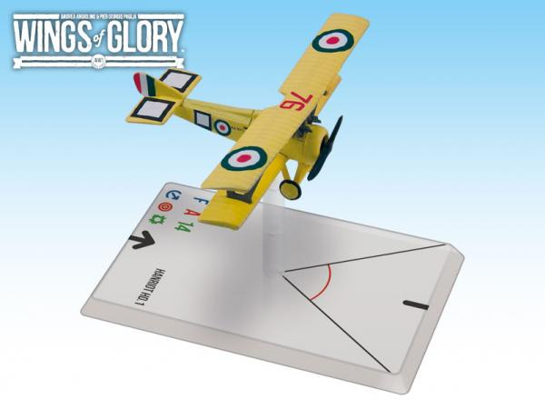 Wings Of Glory WWI Miniatures: Hanriot HD.1 (Scaroni)