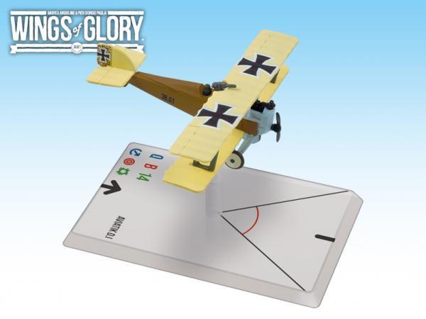 Wings Of Glory WWI Miniatures: Aviatik D.I (Sabeditsch)