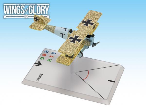 Wings Of Glory WWI Miniatures: Aviatik D.I (Turek)