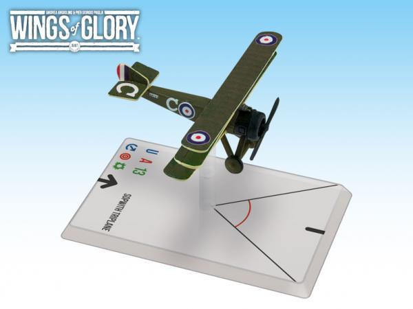 Wings Of Glory WWI Miniatures: Sopwith Triplane (Collishaw)
