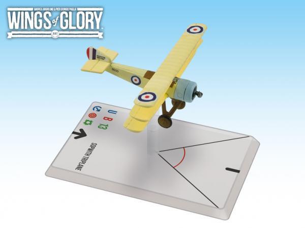 Wings Of Glory WWI Miniatures: Sopwith Triplane (Dallas)
