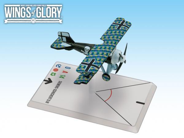 Wings Of Glory WWI Miniatures: Siemens - Schuckert D.III (Lange)